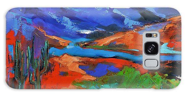 Along The Trail - Arizona Galaxy Case by Elise Palmigiani