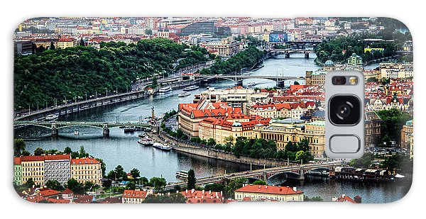 Along The Vltava River Galaxy Case