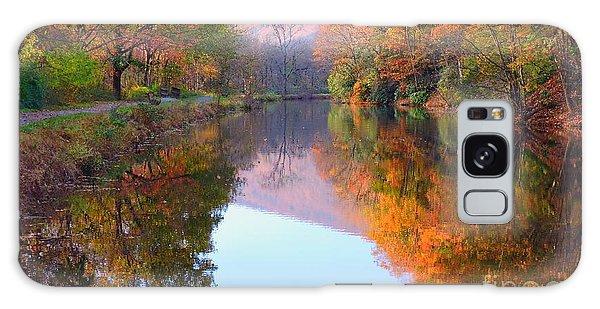 Along These Autumn Days Galaxy Case