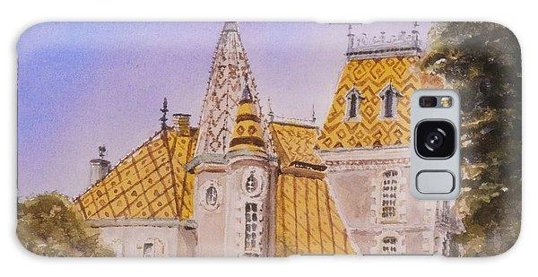 Aloxe Corton Chateau Jaune Galaxy Case by Mary Ellen Mueller Legault