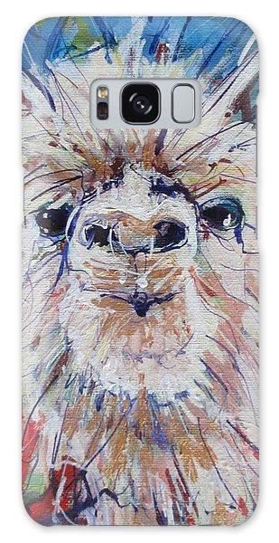 Alpaca Crazed Galaxy Case
