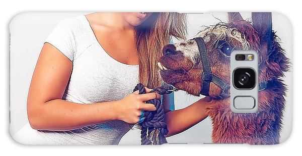 Alpaca Mr. Tex And Breanna Galaxy Case