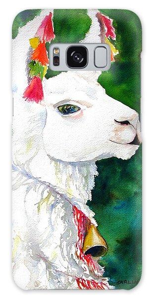 Llama Galaxy S8 Case - Alpaca With Attitude by Carlin Blahnik CarlinArtWatercolor