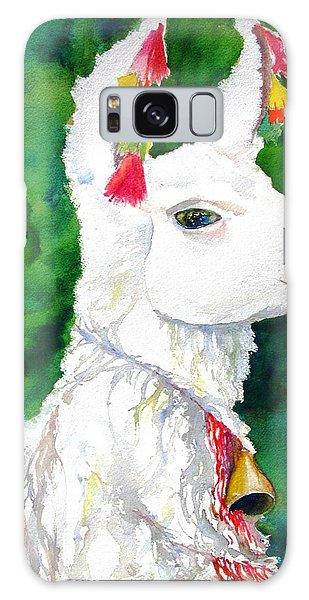 Alpaca With Attitude Galaxy Case