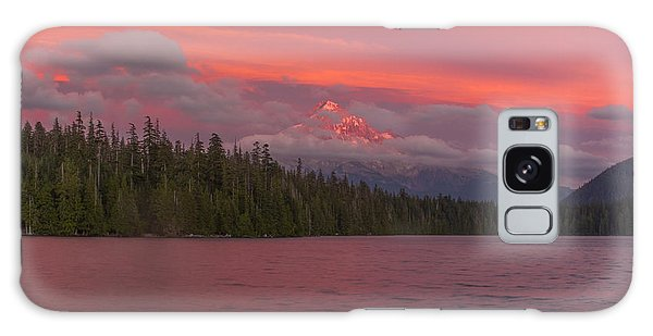 Alpenglow At Lost Lake Galaxy Case
