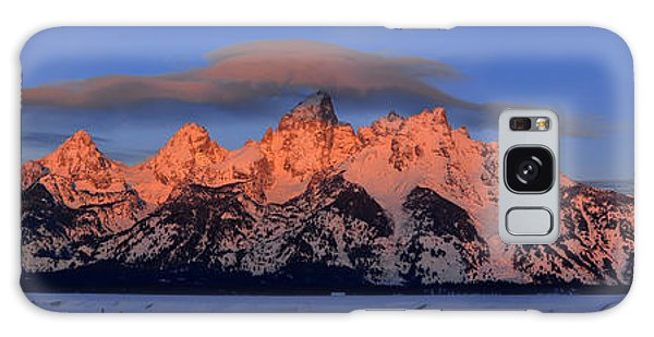 Alpenglow Tetons 2 Galaxy Case