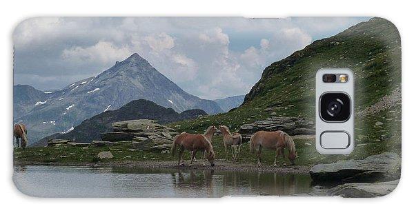 Alps' Horses Galaxy Case