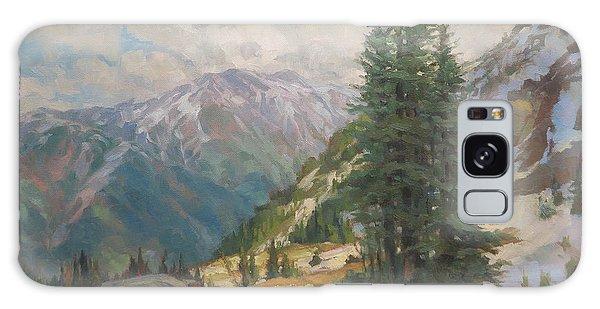 Wilderness Galaxy Case - Alpine Spring  by Steve Henderson