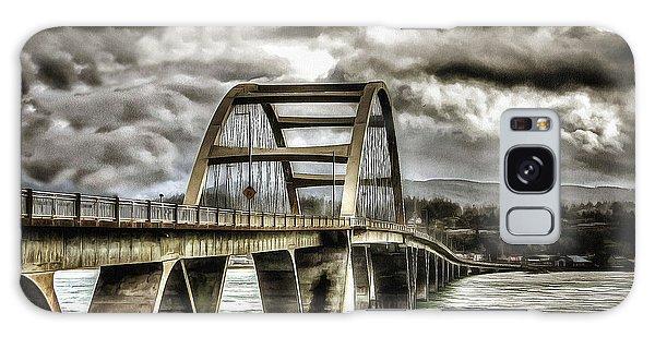 Alsea Bay Bridge Galaxy Case