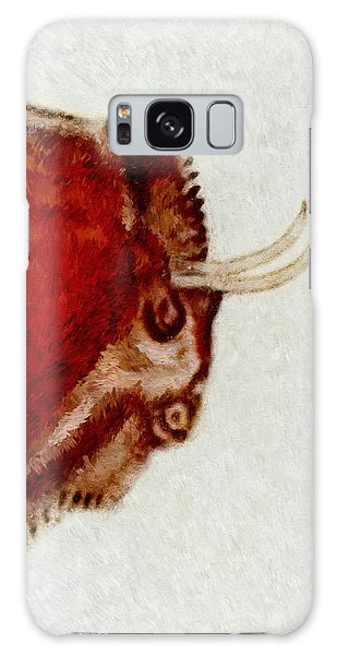 Altamira Prehistoric Bison Detail Galaxy Case