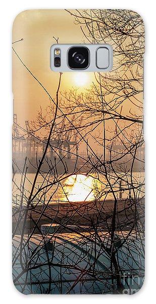 Altonaer Balkon Sunset Galaxy Case