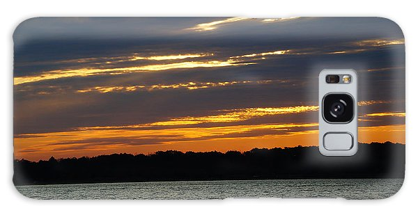 Alum Creek Sunset Galaxy Case