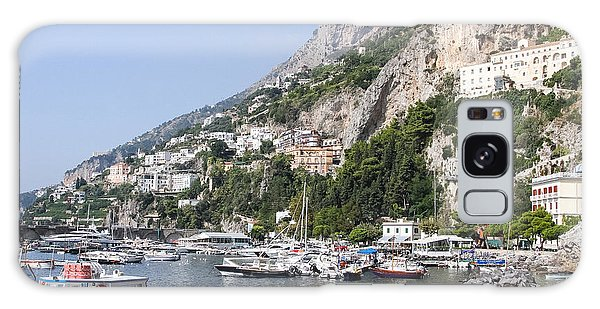 Amalfi Coast Italy Galaxy Case