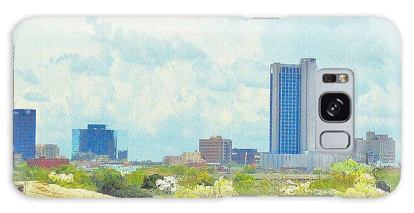 Amarillo Texas In The Spring Galaxy Case