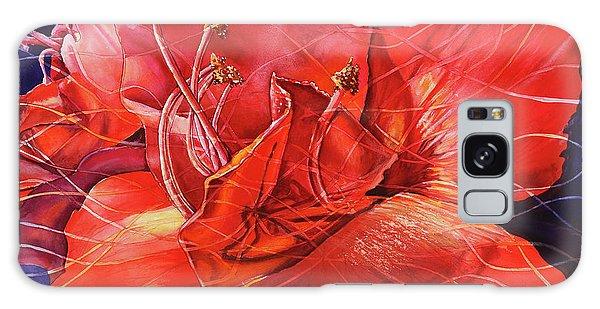 Amaryllis Galaxy Case - Amaryllis 2 by Carolyn Coffey Wallace