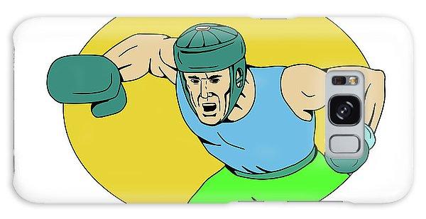 Sportsman Galaxy Case - Amateur Boxer Knockout Punch Drawing by Aloysius Patrimonio
