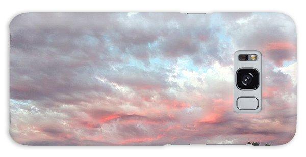 Soft Clouds Galaxy Case
