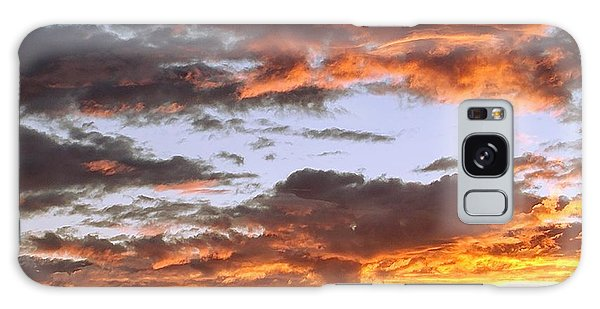 Glorious Clouds At Sunset Galaxy Case