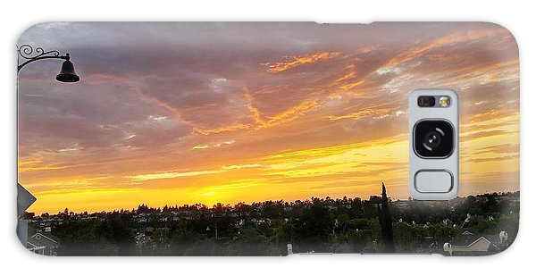 Colorful Sunset In Mission Viejo Galaxy Case