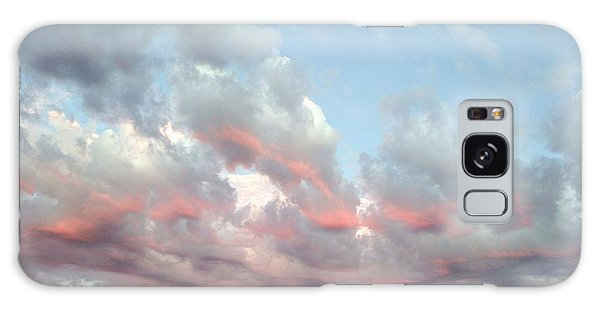 Amazing Clouds At Dusk Galaxy Case