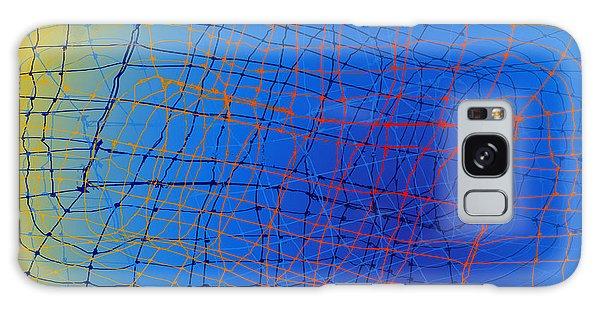 Amazing David Wires Galaxy Case by Constance Krejci