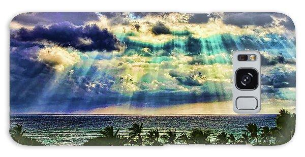 Amazing Grace - Sun Rays Before Sunset By Diana Sainz Galaxy Case