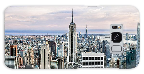 Art Deco Galaxy S8 Case - Amazing Manhattan by Az Jackson
