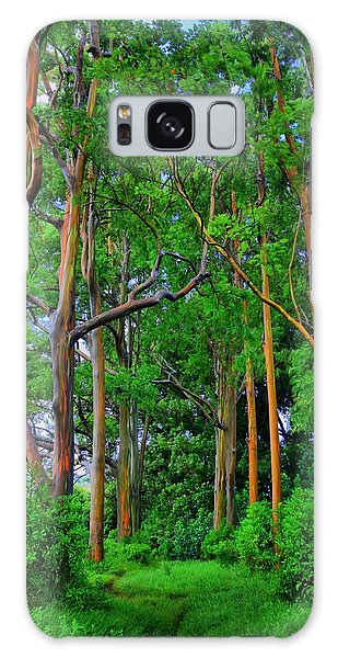 Amazing Rainbow Eucalyptus Galaxy Case