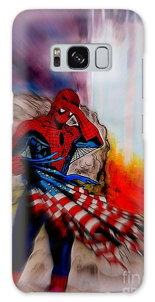 Us Civil War Galaxy Case - Amazing Spider-man 9/11 Tribute by Justin Moore