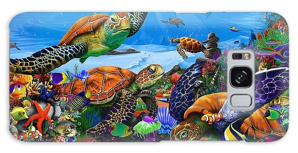 Turtle Galaxy Case - Amazing Undersea Turtles by MGL Meiklejohn Graphics Licensing