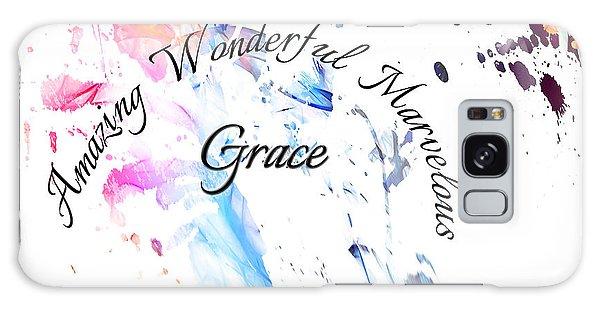 Amazing Wonderful Marvelous Grace Galaxy Case