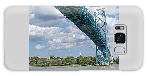 Ambassador Bridge - Windsor Approach Galaxy Case