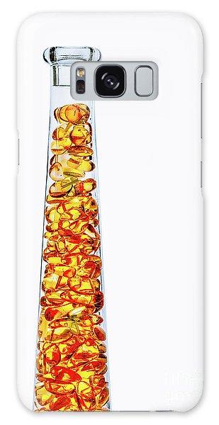Amber #8429 Galaxy Case
