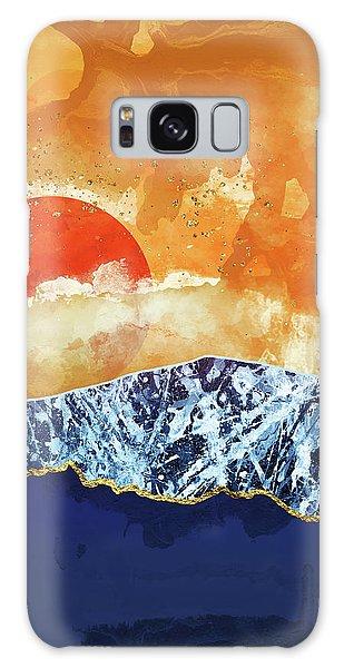 Landscape Galaxy Case - Amber Dusk by Katherine Smit