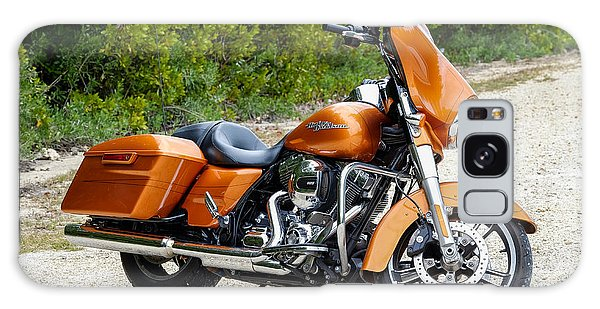 Amber Whiskey Street Glide Galaxy Case