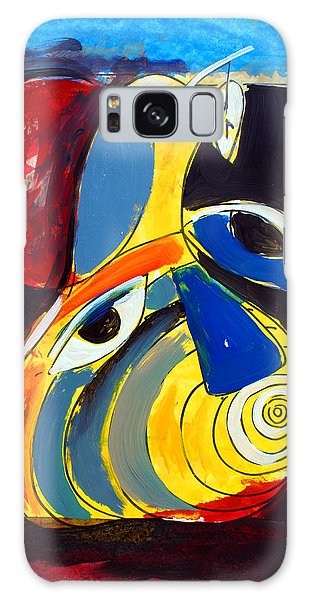 Ameeba 41- Pear Face Galaxy Case