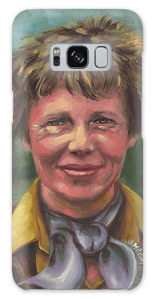Amelia Earhart Galaxy Case