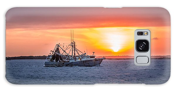 Amelia River Sunset 25 Galaxy Case by Rob Sellers