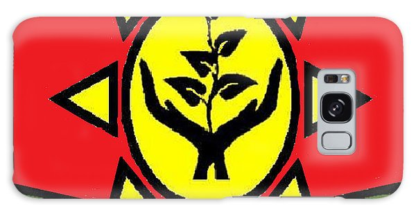 Amen Ankh Sunset Galaxy Case