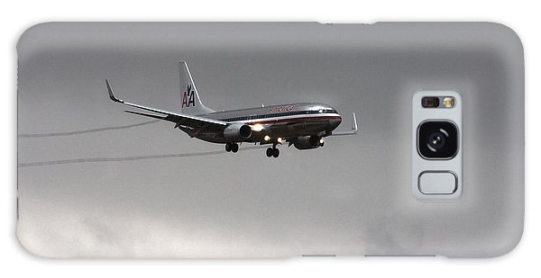 American Airlines-landing At Dfw Airport Galaxy Case