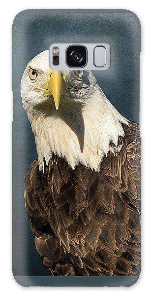 American Bald Eagle Portrait II Galaxy Case
