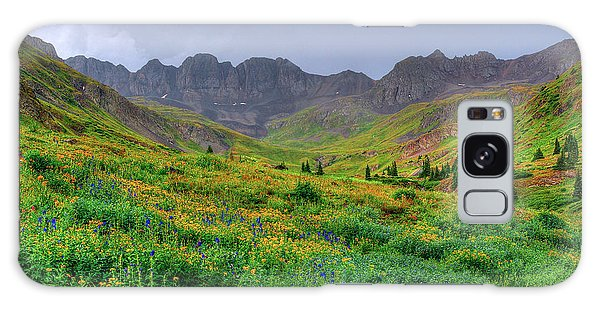 American Basin Summer Storm Galaxy Case by Teri Brown
