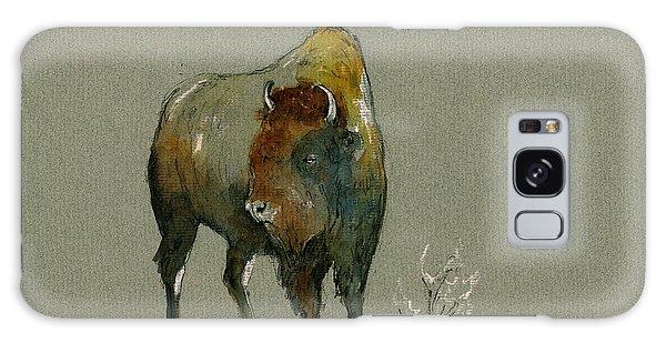 Buffalo Galaxy Case - American Buffalo by Juan  Bosco