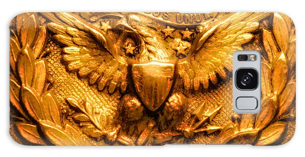 Olive Branch Galaxy Case - American Civil War Union Army Brass American Eagle Emblem by Peter Ogden Gallery