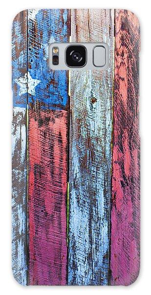 Landmark Galaxy Case - American Flag Gate by Garry Gay