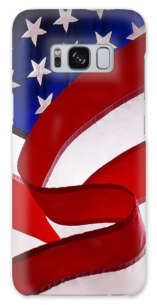 American Flag Galaxy Case by George Robinson