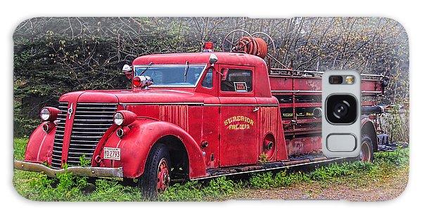 American Foamite Firetruck2 Galaxy Case