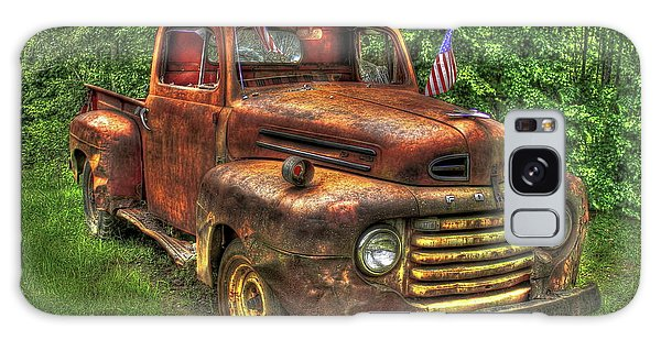 American Ford 1950 F-1 Ford Pickup Truck Art Galaxy Case