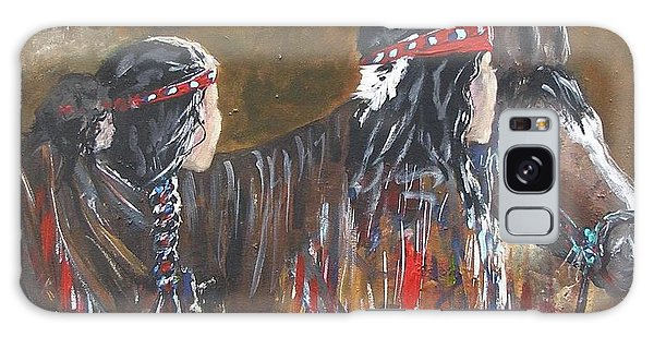 American Indians Family Galaxy Case