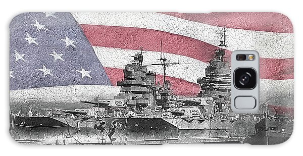 Galaxy Case featuring the digital art American Naval Power by JC Findley